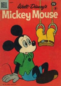 Vintage Walt Disney magazine cover poster - Mickey Mouse